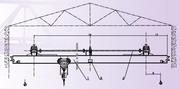 SL Manual Single girder Crane (1-10t) (made in China)