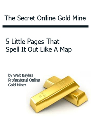 Online Gold Mine. The FREE report showing how to earn online