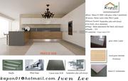 gloss white 2 pack, laminate kitchen- kapon cabinet
