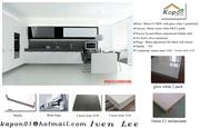 gloss white 2 pack kitchen- kapon cabinet
