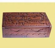 Art handycrafts of Indah Creation(Bali)ebonit wood box carving