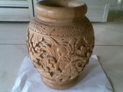 Art Handycrafts of Indah Creation(Bali)Balinese carving pot