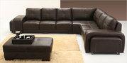 Italian Leather Modular Sofa -Authur