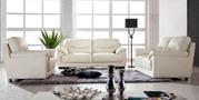 Italian Leather Corner Lounge Sofa -Rimmon