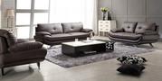 Italian Leather Lounge Suite -Diapason