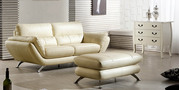 Italian Leather Lounge Suite -xia