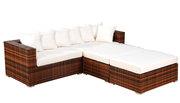 Wicker Outdoor Sofa Bed Group--Kupang