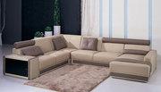 Italian Leather Modular Sofa--Carina