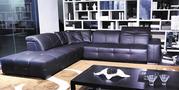 Italian Leather Modular Sofa--Cameron
