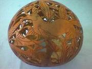 Art handycrafts of Indah Creation(Bali)small coconut shell carving