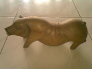 Art handycrafts of Indah creation(Bali)Big pig statue