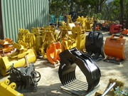 Earthmoving Attachments Grabs Hydraulic Hammers Buckets Crushers etc