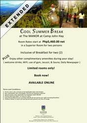 Cool Summer Break Promo at the Best Hotel in Baguio