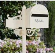 Aussie side mount letterbox in Australia