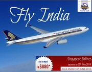 Fly to India with Singapore Airlines