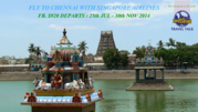 Fly to Chennai with Singapore Airlines