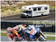 Book now for Melbourne MOTOGP Motor Sport with Aussie Campervans