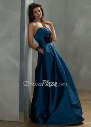 Choose Good Blue Bridesmaid Dresses For a Wedding