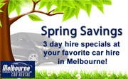 Save money on car hire this spring season!