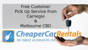 Free Pick-Up for Car Rental Service Customers