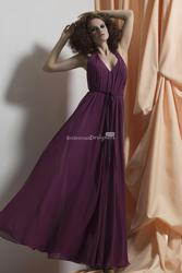 Gorgeous Eggplant bridesmaid dresses