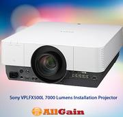 Get Sony VPLFX500L 7000 Lumens Installation Projector