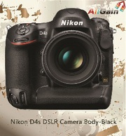 Get Nikon D4s DSLR Camera Body-Black Online in AU