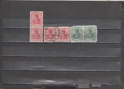 Germania  old rare  historical  stamps