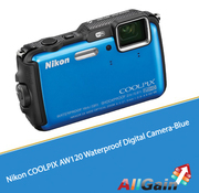 Buy Nikon COOLPIX AW120 Waterproof Digital Camera-Blue