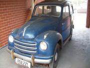 1953 FIAT 500 Fiat 1953  500c  Topolino Station Wagon  in unrest