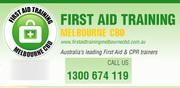 40% Off Senior & Childcare First Aid Melbourne & Sydney Australia