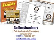 Barista Courses & Training in Melbourne/Sydney/Brisbane