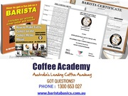 Barista Certifications & Training in Brisbane/Melbourne/Sydney