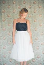 A Satin Wedding Dress Fit For a Princess
