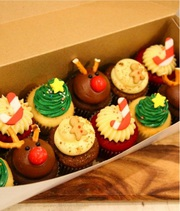 Christmas Special Cupcakes Boxes in Melbourne