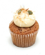 Fresh Carrot And Walnut Cupcake In Melbourne