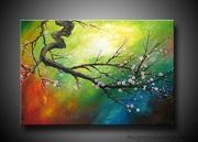 Designer Paintings Floral Oil Paintings