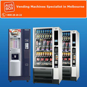 Free vending machines from Ausbox—no installation charges,  no maintena