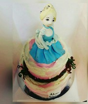 Cinderella Maxi Cake for birthday
