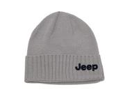 Jeep Cuff Beanie Gray S17