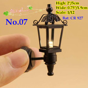 1/12 Scale Dollhouse Miniatures Light Chandelier LED Light