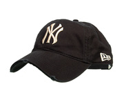 NY Yankees Distressed Baseball Cap