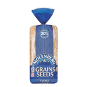 Shop Molenberg 12 Grains & Seeds Toast from Goodman Fielder Food