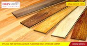 Buy Laminate Flooring and Accessories from Mike's Carpet Discounters