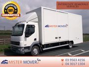 Interstate Removals Services Melbourne
