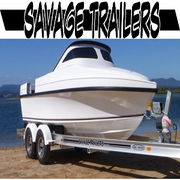 Fully Customised Aluminium Boat Trailers - Savage Trailers