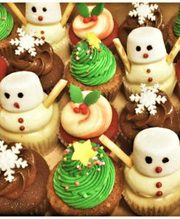 Christmas Cupcakes Melbourne