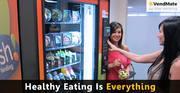 Snack Vending Machines at Café/Restaurant