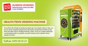 Reliable Healthy Vending Machine Supplier