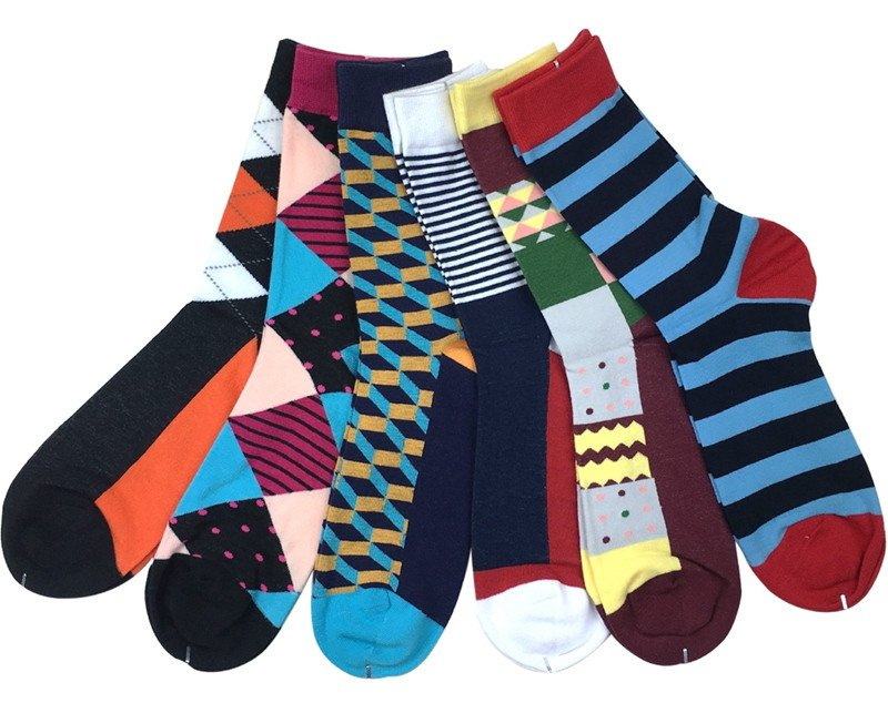 Happy Socks X Andy Warhol. Boring white socks? Who needs them! With Happy Socks, your socks will hardly be understated because you ll have colourful tones and plenty of patterns to choose from.